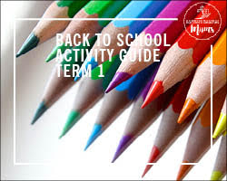 Back To School Activity Guide Term 1 2020